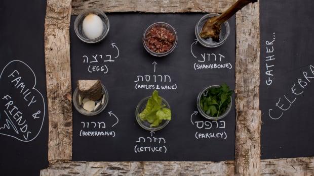 Passover DIY seder plate