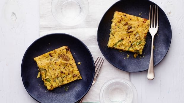 Breakfast Polenta Bake
