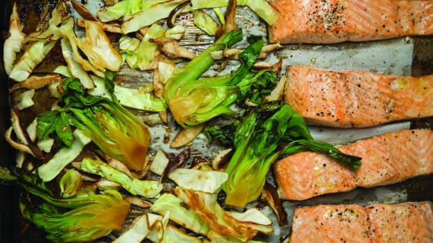 Sheet Pan Asian Roasted Salmon