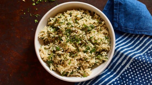 Israeli Green Rice