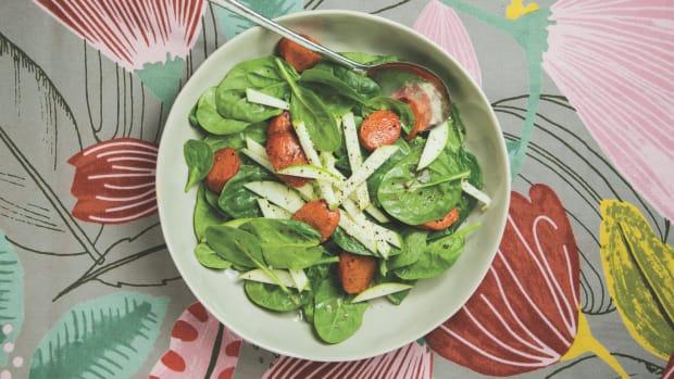 apple sausage salad