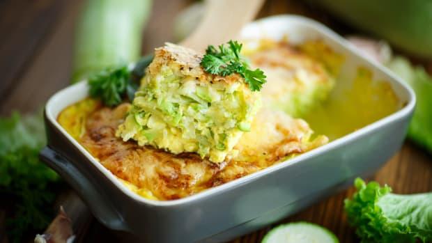 Sweet Potato Zucchini Kugel