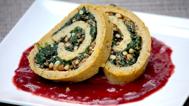 Chickpea Roulade