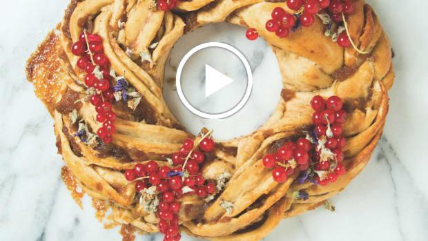 Apple Pie Challah