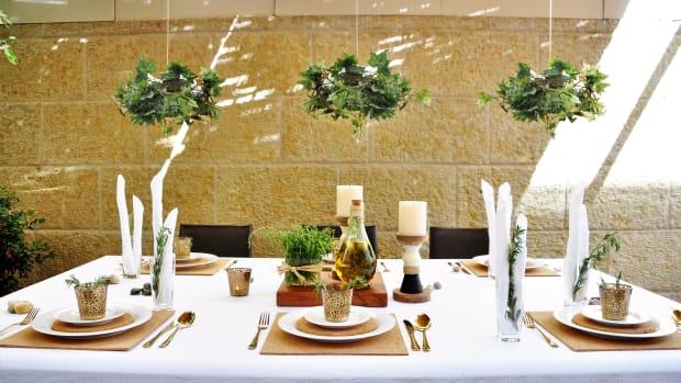 Hanging greens for sukkah.jpg