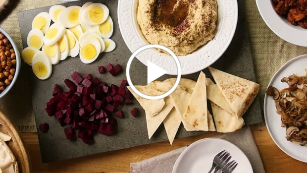 over the top hummus bar video