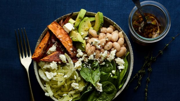 Fennel White Bean Veggie Power Bowl