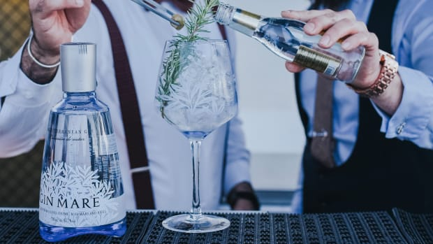Gin Mare and Tonic with Rosemary