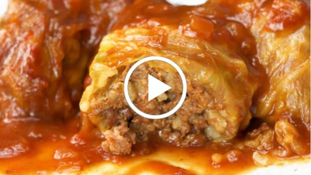 stuffed cabbage video