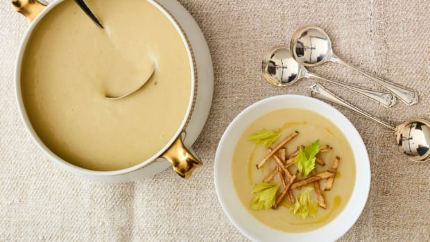 CREAMY CELERY SOUP 4-INGREDIENT
