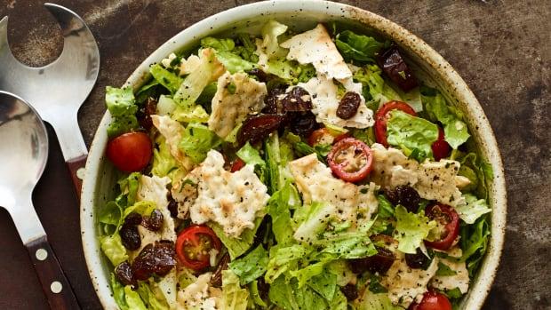 fattoush-ish salad