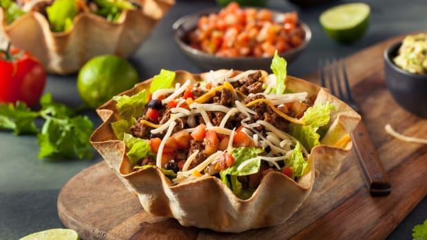 Summer Vegetarian Taco Salad