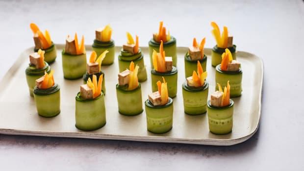 Cucumber Tofu Rolls