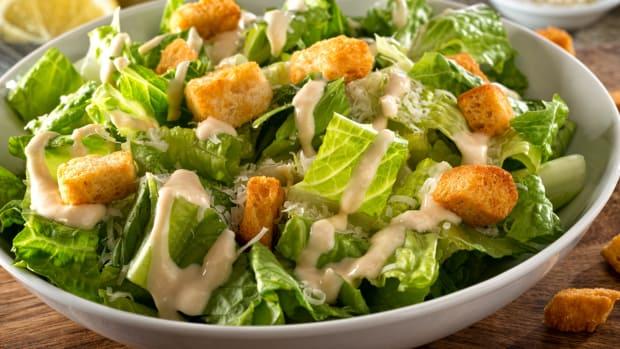 Non-dairy, pareve, caesar salad dressing