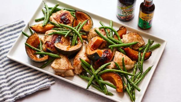 Sheet Pan Hoisin Chicken Dinner