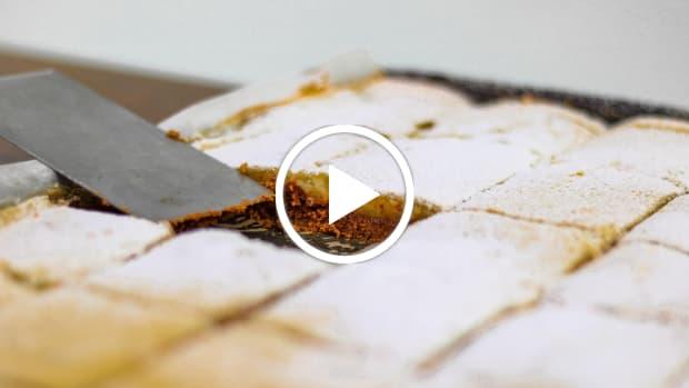 gluten free lemon bars video
