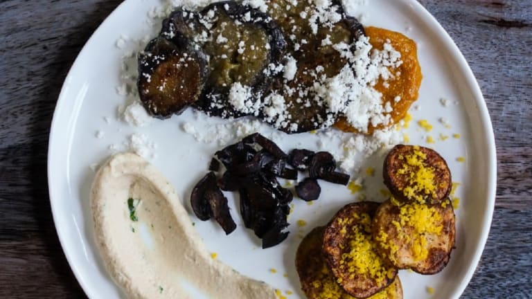 Deconstructed Sabich: An Israeli Favorite with a Modern Twist