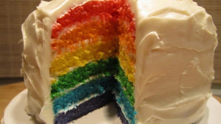 Shabbat Menu - A Rainbow Menu