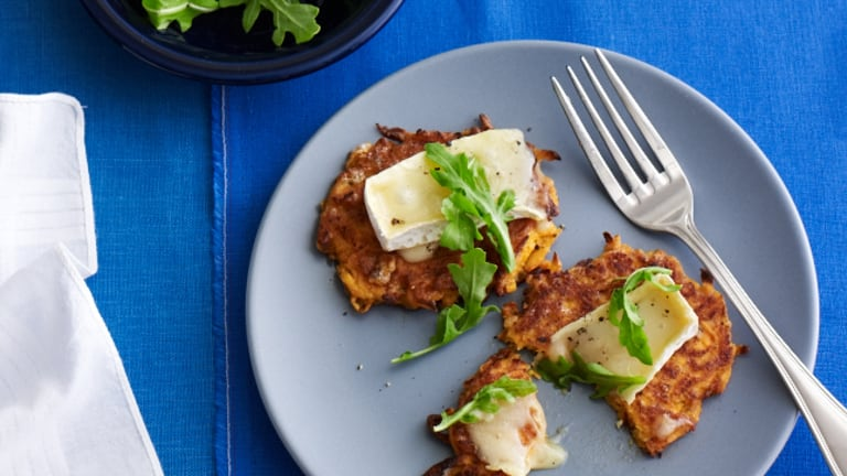 8 Sweet Potato Latkes