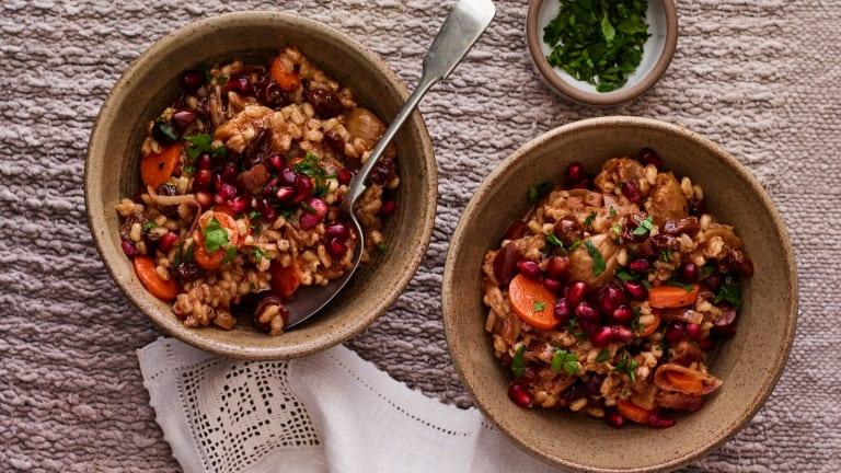 A Vegan Shabbat Lunch Menu