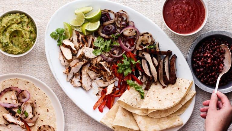 Mexican Shabbat Menu