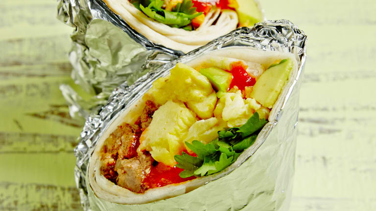 Breakfast Burritos That Can Be Eaten Any Time Of Day
