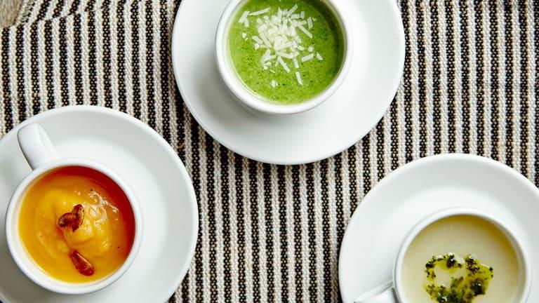 3-Ingredient Fat Free Soups