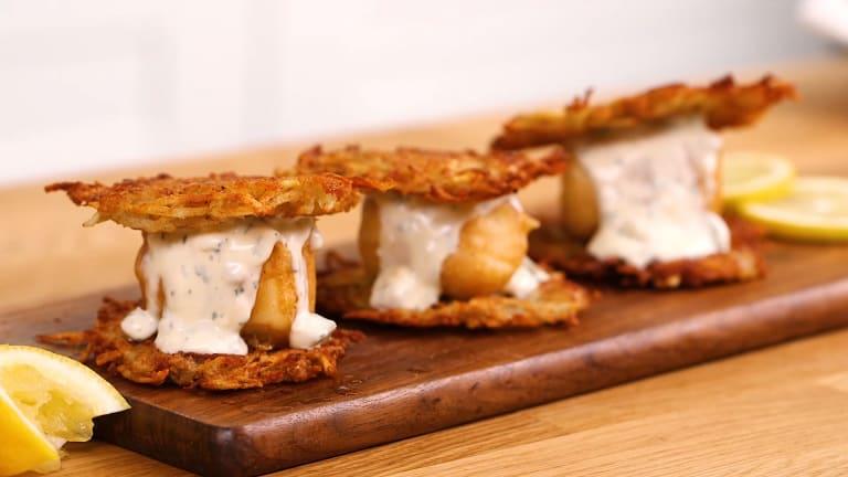 Potato Pancake Sliders - 8 Ways