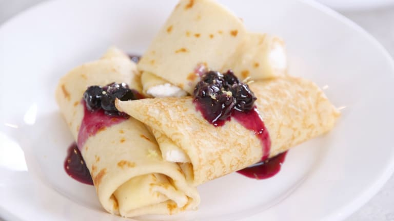 Our Favorite Cheese Blintzes Recipes Plus Variations