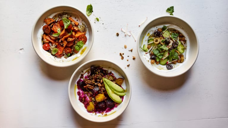 Rethink Yogurt: 6 Savory Yogurt Bowls