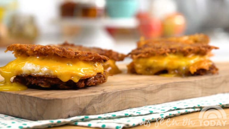 Latke Sliders: Makes an Instant Chanukah Party (As Seen on the Today Show)