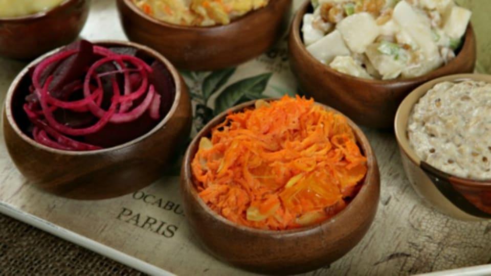Israeli Salatim Shabbat Menu