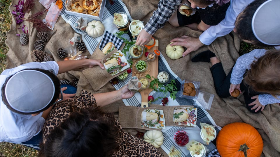 Easy Fall Thanksgiving Picnic