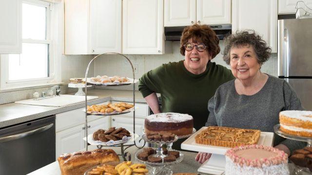 Marilynn and Sheila Brass