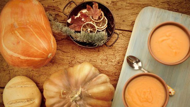 ethnic pumpkin soup
