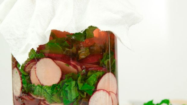 Ume Red Radish Pickles