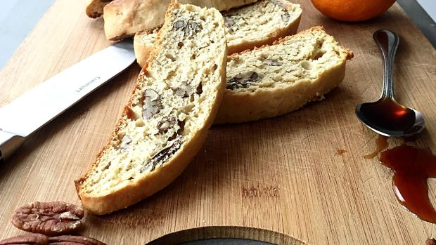 Pecan and Silan Biscotti