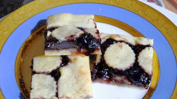 Chocolate Cherry Marzipan Tart