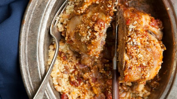 Moroccan Cornish Hens with Pine-Nut Couscous Pg 75.jpg