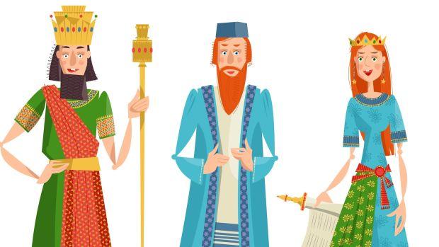 Purim Characters.jpg