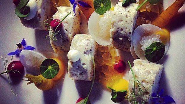 Chef Meir Adoni gefilte fish