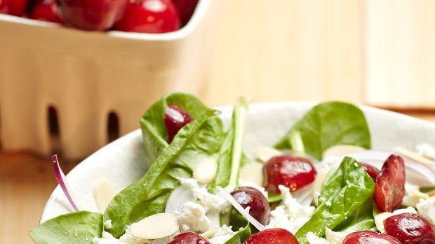 Roasted Cherry and Feta Salad