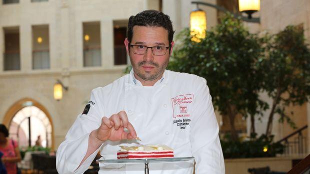 Pastry Chef Claude Ben-Simon