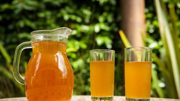 Sweet Iced Green Tea