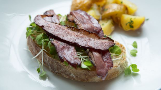 Kosher Duck Bacon