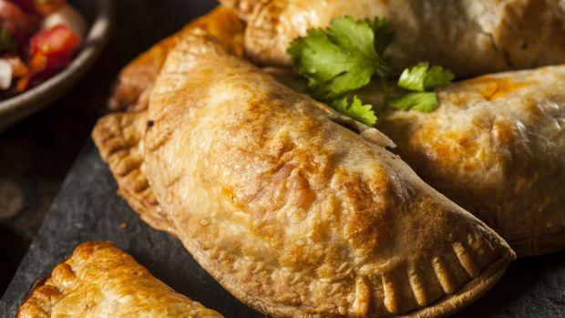 Homemade Vegetarian Empanadas