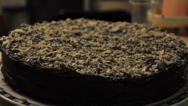 Dark Chocolate Goodness Cake