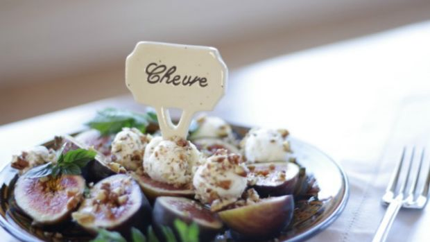 fig and goat cheese