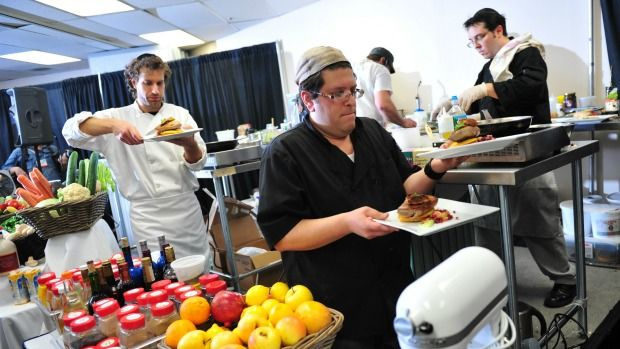 kosher iron chef at kosherfest