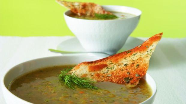 Zucchini Lentil Soup